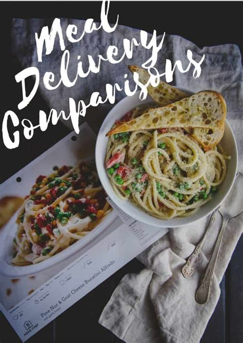 I tried 6 home meal delivery services...here is my ...
